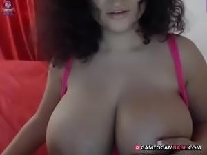 perfect tits Latin webcam slut -  camtocambabe.com