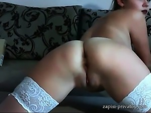Big Ass Webcam Girl Solo Wanking
