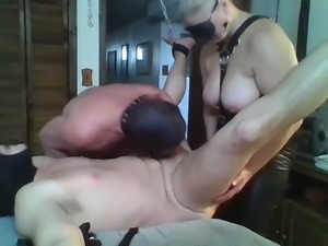 Dom Wife and Her Slaves
