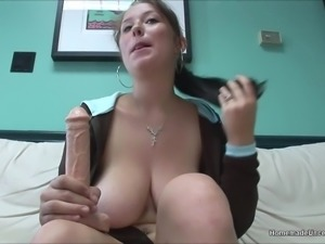 Big tit lubes perfect juggs and ass