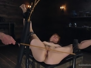 redhead penny will be not only bound, but also brutally fucked