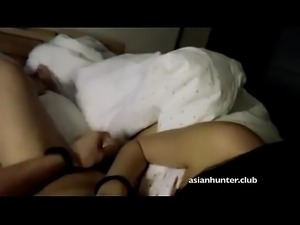 Shy Chinese Ling from Asianhunter.club gets Fucked from Behing and Spanked