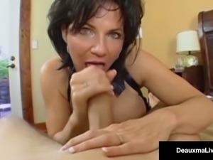 Mature Milf, Deauxma, Has Boy Toy Over For Deep Ass Fucking!
