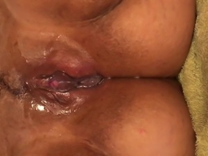 Horny Wife fingering her pussy