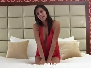 I am going to make sure you swallow all your cum CEI