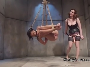 Lezdom doctor anal punishes patient