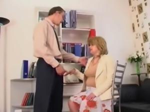 Mutual masturbation in the office