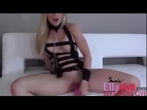 Naughty Blonde - EllaLive.com