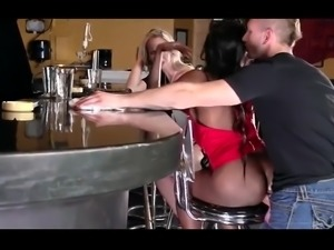 Just a normal day in a bar