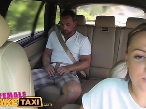 Female Fake Taxi Massive tits cabbie wants cock