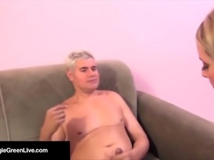 Busty Maggie Green! She Takes a COCK in her HOLE & SQUIRTS!