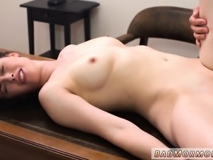Teen crying pain amateur first time I have always been a res
