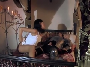 Kety Pearl was fucked by knight in all holes
