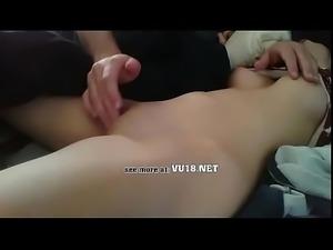 VU18.NET - Asian Schoolgirl gets punished and sucks hard dick (13)