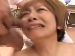 Bukkake facial loving fetish bitches drilled