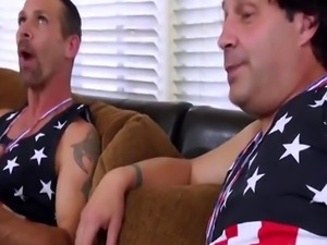 Blair and Maya fucked by both of their horny stepdads