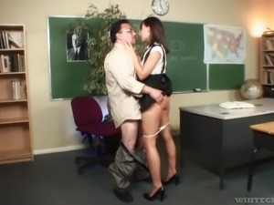 i'm absolutely madly in love with my teacher @ hot horny and hairy #05