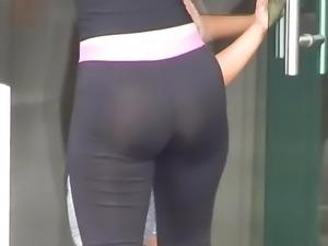 Culazo y cameltoe-Nice Ass(Leggins)