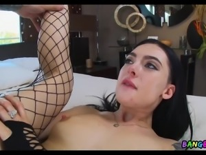 Up Her Ass with a Long Cock