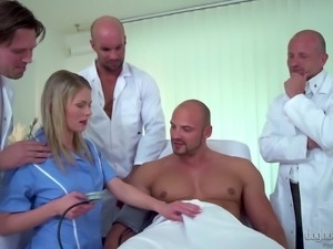 Erected dicks are all Claudia Macc wants up her tight holes