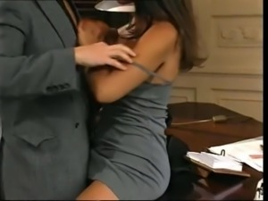 Hot secretary ass fucked
