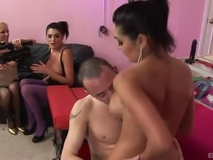 Cindy Behr and Kit Lee cannot resist being a part of an orgy