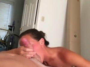 Feeding her with my cock and ucm