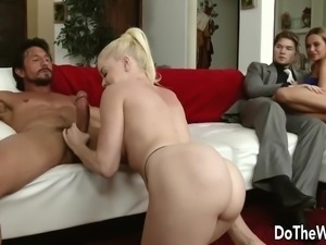 Swinging blonde wife Nikki Delano hardcore