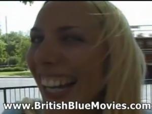 Sandie Caine - British First Time Porn