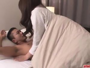 Maki Hojo delights with dick in sensual xxx scenes