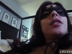 Black mother and chum's daughter anal threesome Swalloween F