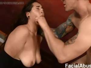 (new) shy whore catlynn throat used up at face fucking