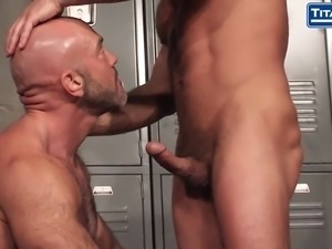 real life gay husband fucked in the locker room