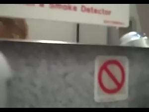 Fucking Blonde on Plane