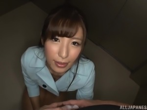 Mashiro Kanna is a beautiful lady craving to suck a dick