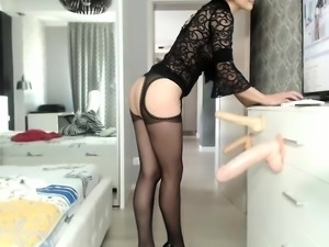 Doctor Milf black stockings sexm