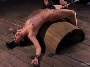 If you love watching hot helpless women get dominated hard, you have come to...