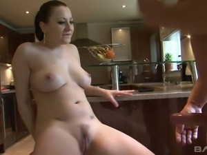 Lara Jade Deene is gorgeous from head to toe and she loves kitchen sex