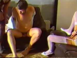 Marvelous redhead white chick in white lingerie masturbating