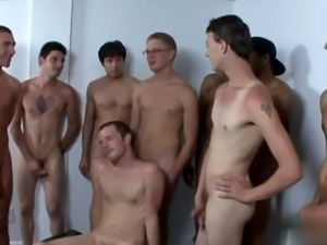Interracial gay emo cum Cocks and explosions of cum... That's how