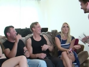 Victoria Summers gets fucked by all the men
