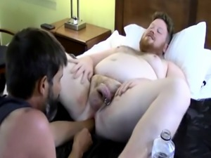 Multiple shemales cum in guys mouth gay In between fisting  they conve