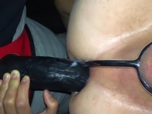 Fucked by my wife with strapon.