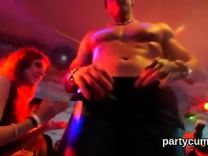 Frisky girls get completely insane and nude at hardcore part