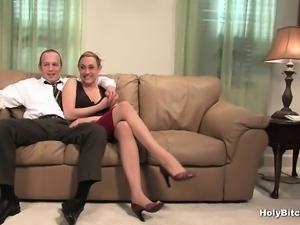 Tiedup guy is having fun with mistresses