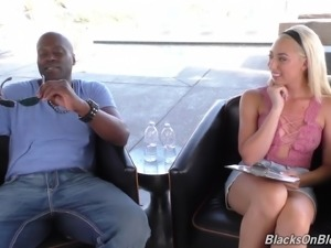 Jessica Jibes cock riding hardcore in interracial porn
