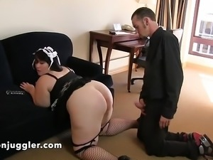 He could not resist his housemaid