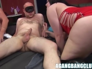 Hot big ass matures get pussy drilled hard in h