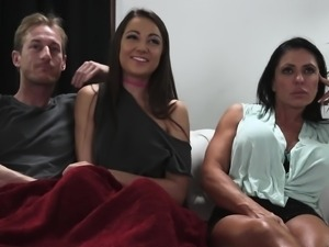 Lily Adams wants to feel a hunk's erected dick in her cunt
