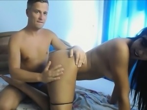 Doggy Fuck My Friends White Wet Leaking Pussy